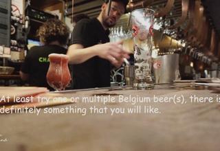 Äta ute i Bryssel